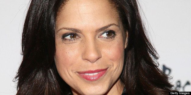 NEW YORK, NY - MARCH 12:  Soledad O'Brien attends ROCK ART LOVE at The Angel Orensanz Foundation on March 12, 2013 in New Yor