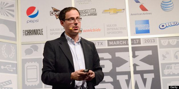 AUSTIN, TX - MARCH 10:  Nate Silver, Founder & President of fivethirtyeight.com speaks onstage at The Signal & The Noise duri