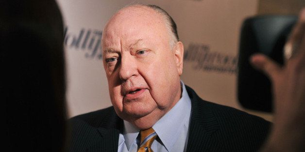 NEW YORK, NY - APRIL 11: Roger Ailes, President of Fox News Channel attends the Hollywood Reporter celebration of 'The 35 Most Powerful People in Media' at the Four Season Grill Room on April 11, 2012 in New York City. (Photo by Stephen Lovekin/Getty Images)