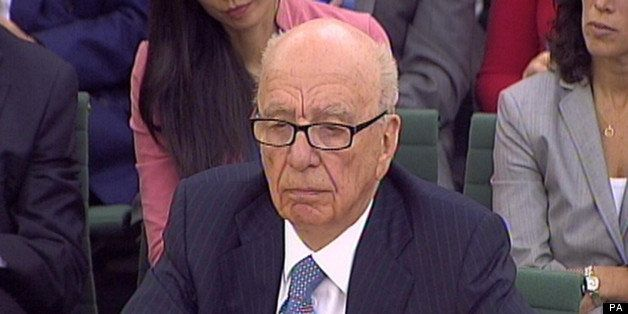Rupert Murdoch, Chairman and Chief Executive Officer, News Corporation giving evidence to the Culture, Media and Sport Select