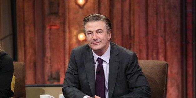 LATE NIGHT WITH JIMMY FALLON -- Episode 763 -- Pictured: Alec Baldwin during an interview on January 10, 2013 (Photo by: Lloy