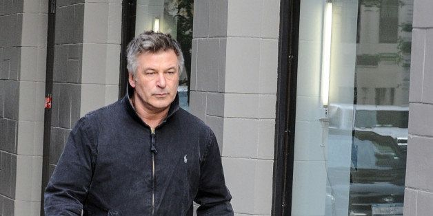 NEW YORK, NY - November 15: Alec Baldwin is seen on November 15, 2013 in New York City.  (Photo by Mario Magnani/Bauer-Griffi