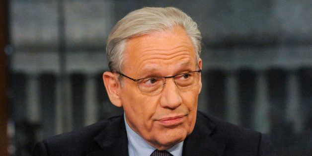 MEET THE PRESS -- Pictured: (l-r)   Bob Woodward, Associate Editor, The Washington Post, appears on 'Meet the Press' in Washi