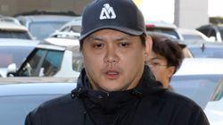 '음주사고' 박해미 남편 황민이 법정 출두하며 한