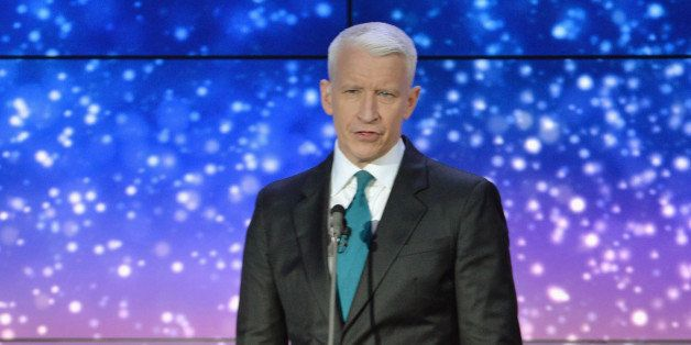 NEW YORK, NY - NOVEMBER 19: Anderson Cooper speaks onstage at 2013 CNN Heroes: An All Star Tribute at The American Museum of