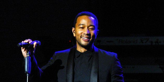 LAS VEGAS, NV - NOVEMBER 30: John Legend performs at the Pearl at Palms Casino Resort on November 30, 2013 in Las Vegas, Nevada. (Photo by Denise Truscello/WireImage)