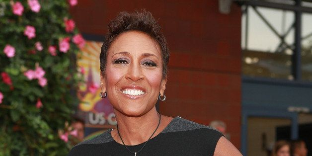 NEW YORK, NY - AUGUST 26:  TV personality Robin Roberts attends the 13th Annual USTA Serves Opening Night Gala at USTA Billie