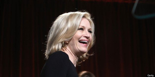 NEW YORK, NY - APRIL 30:  Diane Sawyer attends the Food Bank For New York City's Can-Do Awards celebrating 30 years of servic