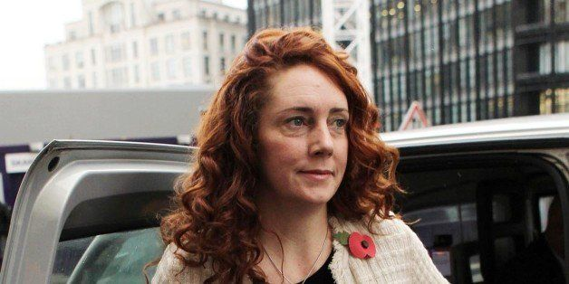 Former News International chief executive Rebekah Brooks arrives at the Old Bailey, as her phone hacking trial continues.