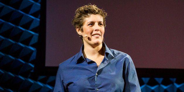 Sally Kohn at TED@NYC Talent Search - October 8, 2013, Joe's Pub, New York, NY. Photo: Ryan Lash