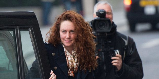 LONDON, ENGLAND - DECEMBER 10:  Former News International chief executive Rebekah Brooks arrives for the phone-hacking trial