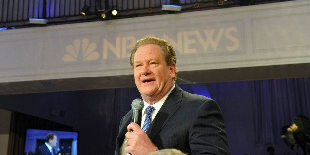 NBC NEWS - EVENTS -- 2012 NBC News Upfront -- Pictured: Ed Schultz -- (Photo by: Charles Sykes/NBC/NBCU Photo Bank via Getty