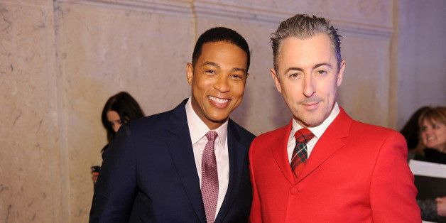 NEW YORK, NY - NOVEMBER 19: Don Lemon (L) and Alan Cumming attend 2013 CNN Heroes: An All Star Tribute at the American Museum