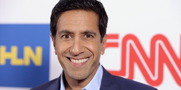 PASADENA, CA - JANUARY 10:  Dr. Sanjay Gupta attends the CNN Worldwide All-Star Party At TCA at Langham Hotel on January 10,
