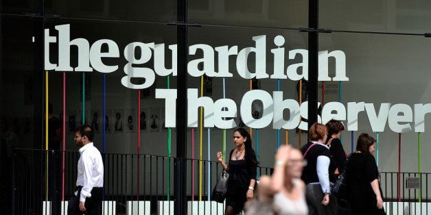 LONDON, ENGLAND - AUGUST 21:  A general view of the Guardian Newspaper offices on August 21, 2013 in London, England. It has