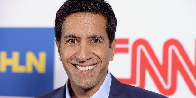 PASADENA, CA - JANUARY 10:  Dr. Sanjay Gupta attends the CNN Worldwide All-Star Party At TCA at Langham Hotel on January 10,