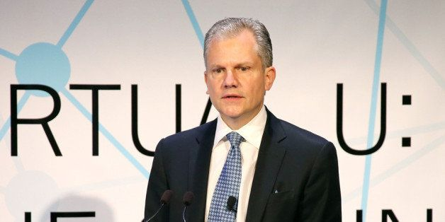 NEW YORK, NY - SEPTEMBER 17:  Arthur Sulzberger, Jr., Publisher of the New York Times, delivers the welcome address at the th