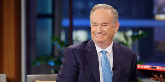 THE TONIGHT SHOW WITH JAY LENO -- Episode 4367 -- Pictured: News journalist Bill O'Reilly during an interview on December 6,
