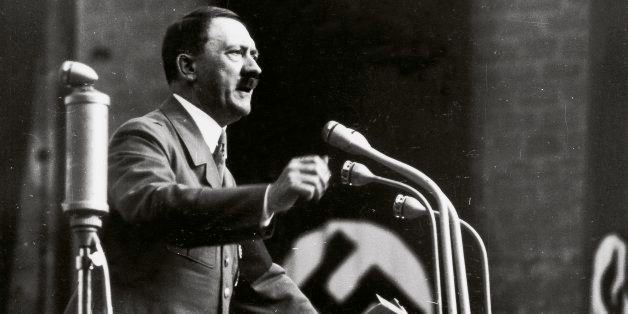 GERMANY - JANUARY 01:  Adolf Hitler. Photography.  (Photo by Imagno/Getty Images) [Adolf Hitler. Photographie.]