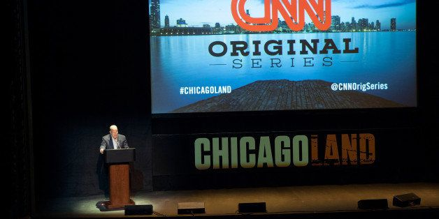 CHICAGO, IL - MARCH 04:  President of CNN Jeff Zucker attends the 'Chicagoland' series premiere at Bank of America Theater on