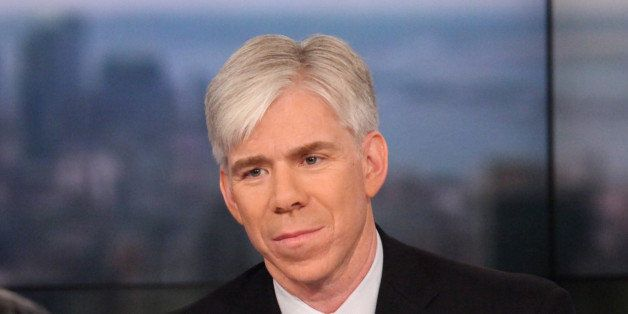 MEET THE PRESS -- Pictured: David Gregory -- (Photo by: Rob Kim/NBC/NBCU Photo Bank via Getty Images)