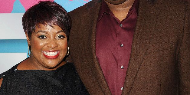 LOS ANGELES, CA - JUNE 29:  Sherri Shepherd and husband Lamar 'Sal' Sally attend Debra L. Lee's 7th annual VIP pre BET dinner