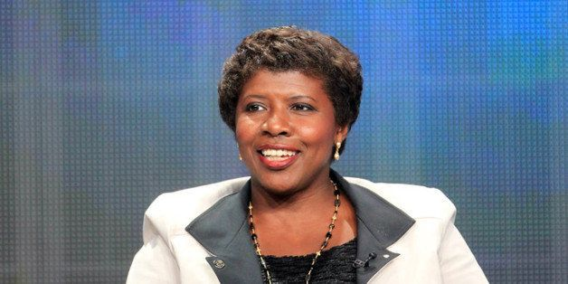 LOS ANGELES, CA - JULY 22:  Gwen Ifill, Washington Week, PBS NewsHour speaks onstage at the 'PBS Election Coverage' panel dur