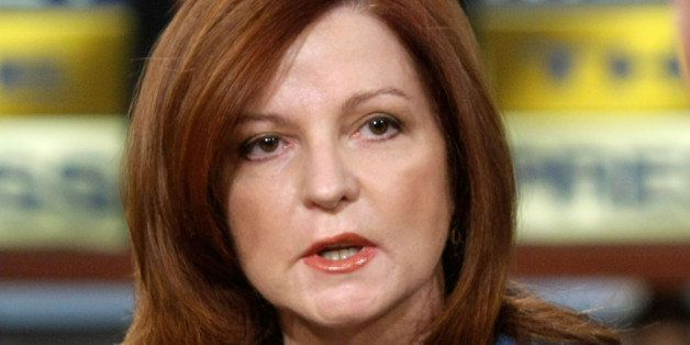 WASHINGTON - MAY 25:  New York Times columnist Maureen Dowd speaks during a taping of 'Meet the Press' at the NBC studios May