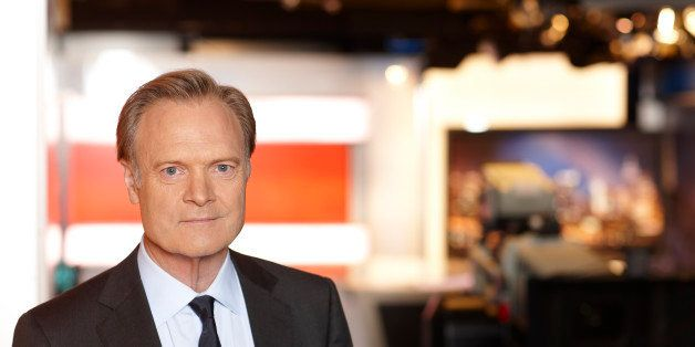 New York, NY - May 19th 2011: Lawrence O'Donnell, host of MSNBCs show The Last Word on the set in the the studios of NBC in R