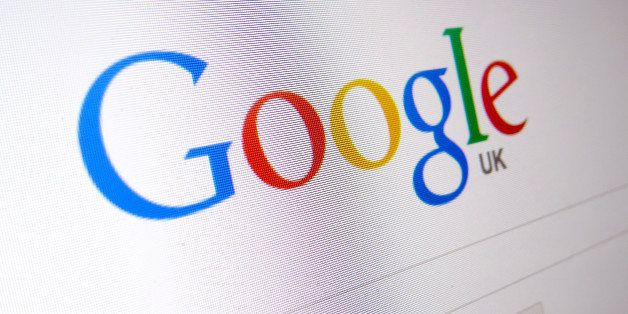 General view of the internet search engine Google