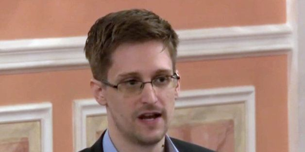 FILE - In this file image made from video released by WikiLeaks on Friday, Oct. 11, 2013, former National Security Agency sys