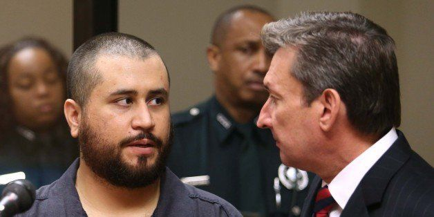 George Zimmerman, acquitted in the high-profile killing of unarmed black teenager Trayvon Martin, faces his defense counsel J