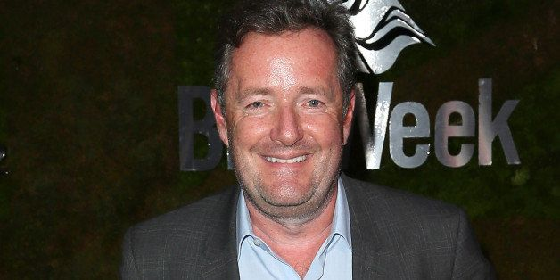 WEST HOLLYWOOD, CA - MAY 02:  TV host Piers Morgan attends A Villainous Affair presented by Jaguar North America and BritWeek