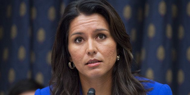 UNITED STATES - OCTOBER 1: Rep. Tulsi Gabbard, D-Hawaii, attends a House Foreign Affairs Subcommittee on the Western Hemisphe