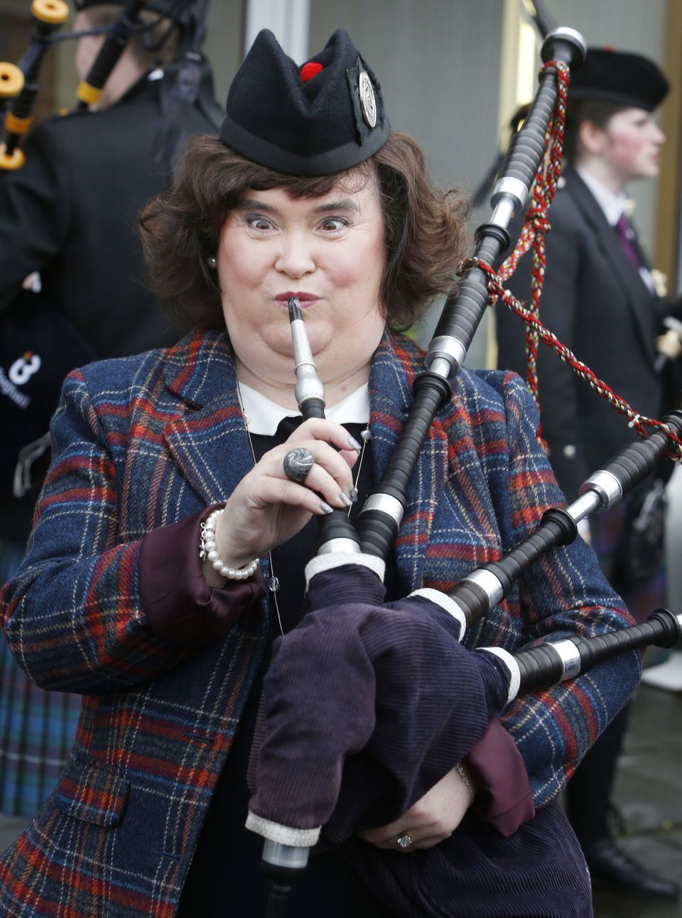 """An invite to the launch of Susan Boyle's new album went<a href=""""https://www.huffpost.com/entry/susan-boyle-anal-bum-party-twi"""