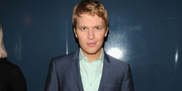 BROOKLYN, NY - SEPTEMBER 09: Ronan Farrow attends the GQ Fashion Week Party At The Wythe Hotel on September 9, 2014 in Brooklyn City. (Photo by Bryan Bedder/Getty Images for GQ)