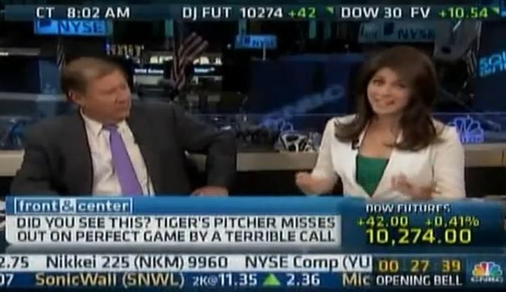 Mark Haines Makes Sexist Comment On CNBC, Refuses To