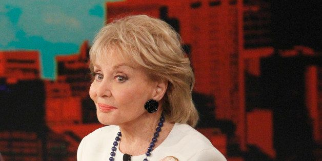THE VIEW - Barbara Walters says farewell to live daily television with her final co-host appearance on The View, the daytime