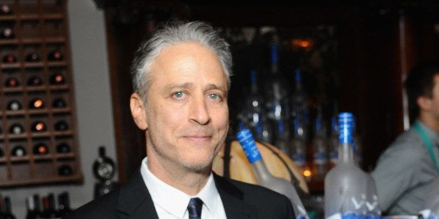 TORONTO, ON - SEPTEMBER 08: Director/Producer/Actor Jon Stewart at the 'Rosewater' premiere party hosted by GREY GOOSE vodka