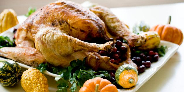 """This Oct. 21, 2013 photo shows a """"back to basics"""" turkey in Concord, N.H. The recipe is so basic, it calls for just four ingr"""