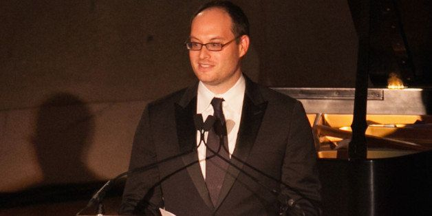 WASHINGTON, DC - NOVEMBER 19:  Franklin Foer, Editor at The New Republic, speaks on stage at the New Republic Centennial Gala