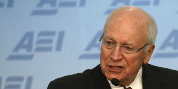 WASHINGTON, DC - SEPTEMBER 10:  Former US Vice President Dick Cheney speaks about the situation in Syria and Iraq regarding t