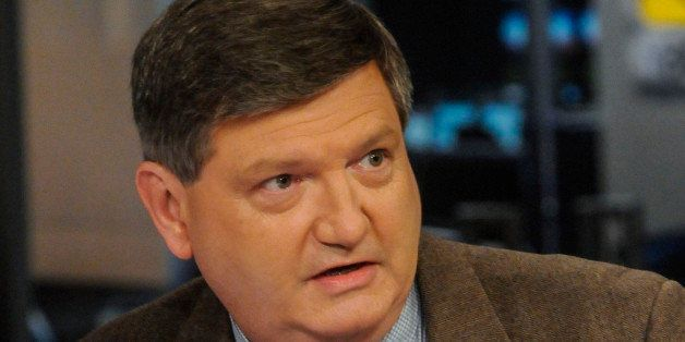 MEET THE PRESS -- Pictured: (l-r)  James Risen, National Security Reporter, New York Times, appears on 'Meet the Press' in Wa