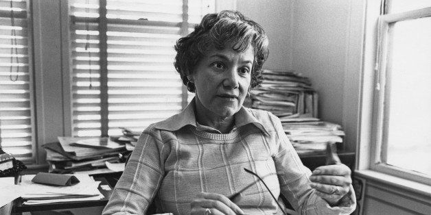American founder of 'Action for Children's Television' (ACT), Peggy Charren, Boston, Massachusetts, USA, 15th March 1978. (Ph