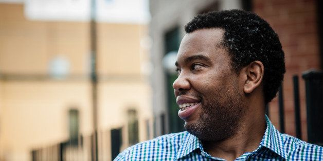 WASHINGTON, DC -- JUNE 13: Ta-Nehisi Coates, National Correspondent for The Atlantic Magazine, wrote the cover piece about re