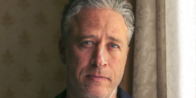 TORONTO, ON -  SEPTEMBER 7:  Stewart is seen at the Royal York Hotel. Jon Stewart (of the Daily Show fame) directed and wrot