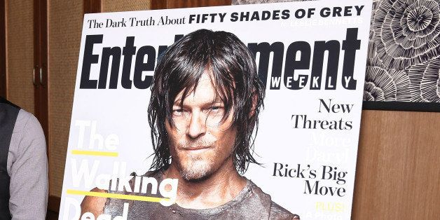 NEW YORK, NY - FEBRUARY 10:  Norman Reedus attends an intimate dinner hosted by Entertainment Weekly to celebrate the magazin