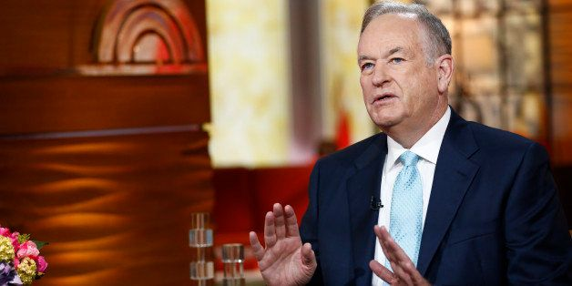 TODAY -- Pictured: Bill O'Reilly appears on NBC News' 'Today' show -- (Photo by: Peter Kramer/NBC/NBC NewsWire via Getty Imag
