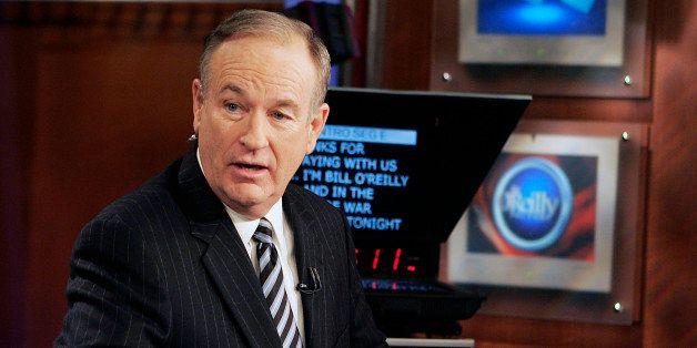 "**FILE**Fox News commentator Bill O'Reilly appears on the Fox News show, ""The O'Reilly Factor,"" on Jan. 18, 2007 in New York."