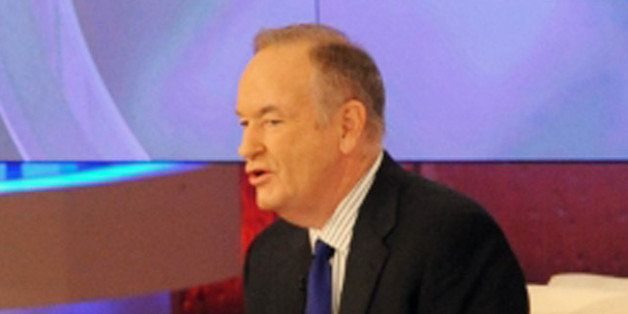 "This image released by Disney-ABC Domestic Television shows host Katie Couric, left, with TV commentator Bill O'Reilly on ""Ka"